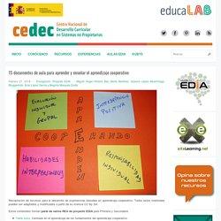 15 documentos de aula para aprender y enseñar el aprendizaje cooperativo