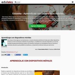 Eduteka - Aprendizaje con dispositivos móviles