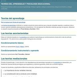 Teorías del aprendizaje y psicología educacional