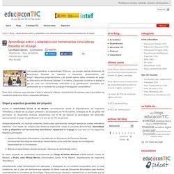 Aprendizaje activo y adaptativo con herramientas innovadoras basadas en el juego