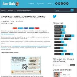 APRENDIZAJE INFORMAL/ INFORMAL LEARNING