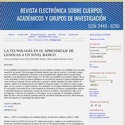 Revista Electrónica Sobre Cuerpos Académicos y Grupos de Investigación