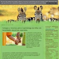 Les zebres surten de cap de setmana : Consejos y recursos para el aprendizaje de niños con necesidades educativas especiales.
