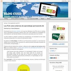Los PLE como entornos de aprendizaje permanente (II)
