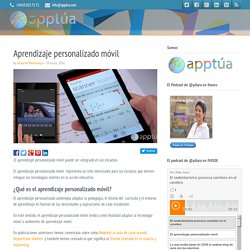 Aprendizaje personalizado móvil
