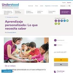 Todo sobre aprendizaje personalizado