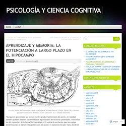 APRENDIZAJE Y MEMORIA: LA POTENCIACIÓN A LARGO PLAZO EN EL HIPOCAMPO
