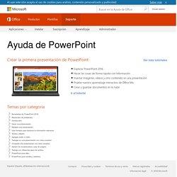 Ayuda y aprendizaje de PowerPoint: Soporte de Office