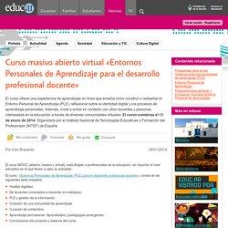 Curso masivo abierto virtual «Entornos Personales de Aprendizaje para el desarrollo profesional docente»