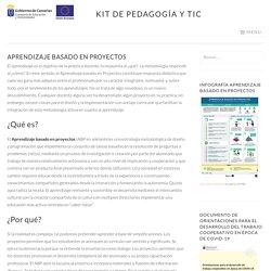 Aprendizaje basado en proyectos – Kit de Pedagogía y TIC
