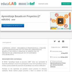 Aprendizaje Basado en Proyectos (2ª edición)