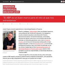 El Aprendizaje Basado en Proyectos por Juanjo Vergara
