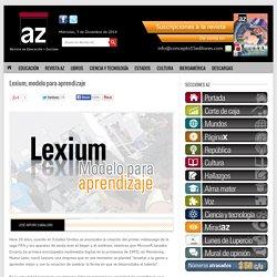 Lexium, modelo para aprendizaje