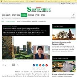 Ahora o nunca: entornos de aprendizaje y sostenibilidad - Sostenibilidad Semana