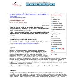 Uso de un entorno virtual de aprendizaje ludificado como estrategia didáctica en un curso de pre-cálculo: Estudio de caso en la Universidad Nacional de Colombia