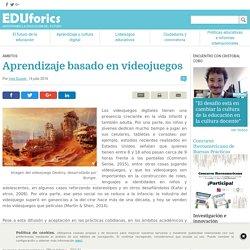 Aprendizaje basado en videojuegos - EDUforics