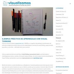 Ejemplo Práctico de Aprendizaje con Visual Thinking – visualizamos