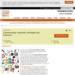 L'aprenentatge cooperatiu: estratègies que funcionen