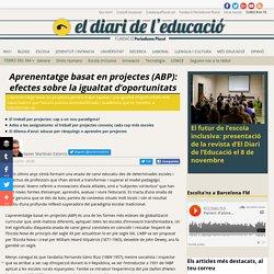 Aprenentatge basat en projectes (ABP): efectes sobre la igualtat d'oportunitats