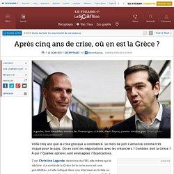 ECO - Après cinq ans de crise, où en est la Grèce ?