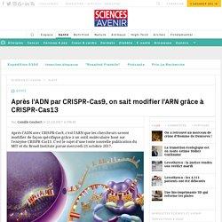 Après l'ADN par CRISPR-Cas9, on sait modifier l'ARN grâce à CRISPR-Cas13