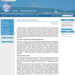 Après guerre de Tony Judt (II) - APHG Aix Marseille