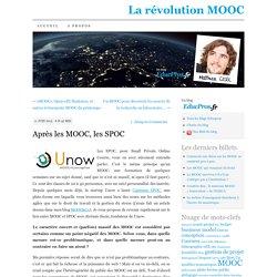 Après les MOOC, les SPOC