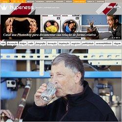 Bill Gates apresenta sistema que transforma esgoto em água potável e energia