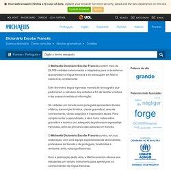 Dictionnaire français-portugais - Michaelis