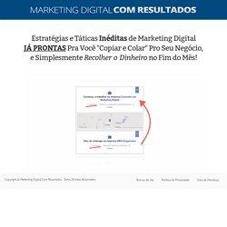 Assista essa pequena apresentação agora... — Marketing Digital Com Resultados