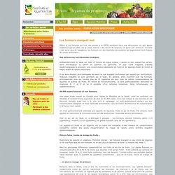 Agence fruits et légumes frais : les articles santé