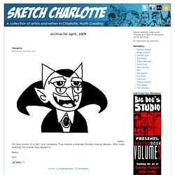 April « 2009 « Sketch Charlotte