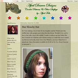 Star Slouchy Hat