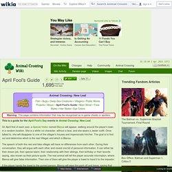 April Fool's Guide - AC:NL