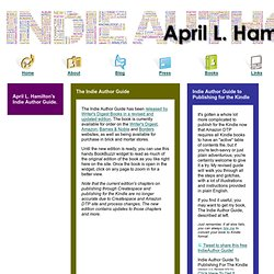 April L. Hamilton - Indie Author Guide
