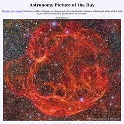 2016 April 25 - Simeis 147: Supernova Remnant