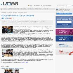 Benoit Hamon visite l'EA Aprobois // UNEA - Union Nationale des Entreprises Adaptées