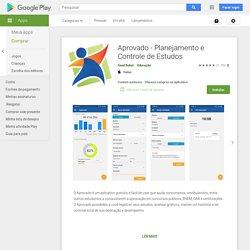 Aprovado - Planejamento e Controle de Estudos – Apps no Google Play