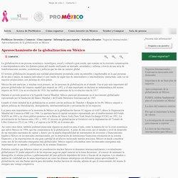 Aprovechamiento de la globalización en México