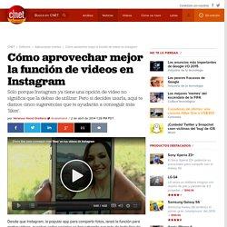 Cómo aprovechar mejor la función de videos en Instagram - CNET en Español