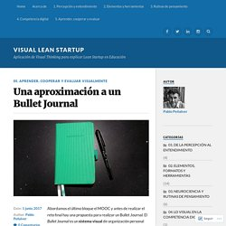 Una aproximación a un Bullet Journal – Visual Lean Startup