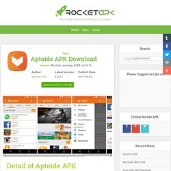 Aptoide APK Download 8.2.1.1