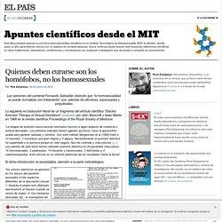 Apuntes científicos desde el MIT