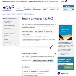 AQA English Language A (exam board)