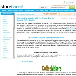 Where to Buy AquaBrew TE 216 Granite Thermo Express Coffee Mac...