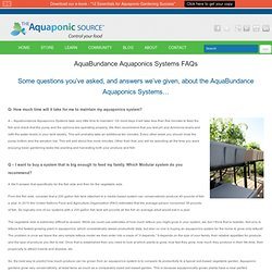Aquaponic Worms FAQ