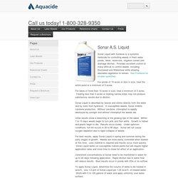 Aquacide — Sonar A.S. Liquid