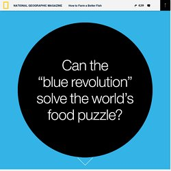 Can the blue revolution solve the world's food puzzle?