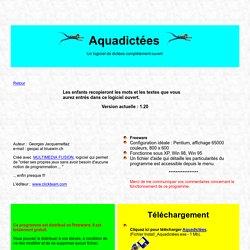 Aquadictées