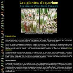 AquaFish : Plantes